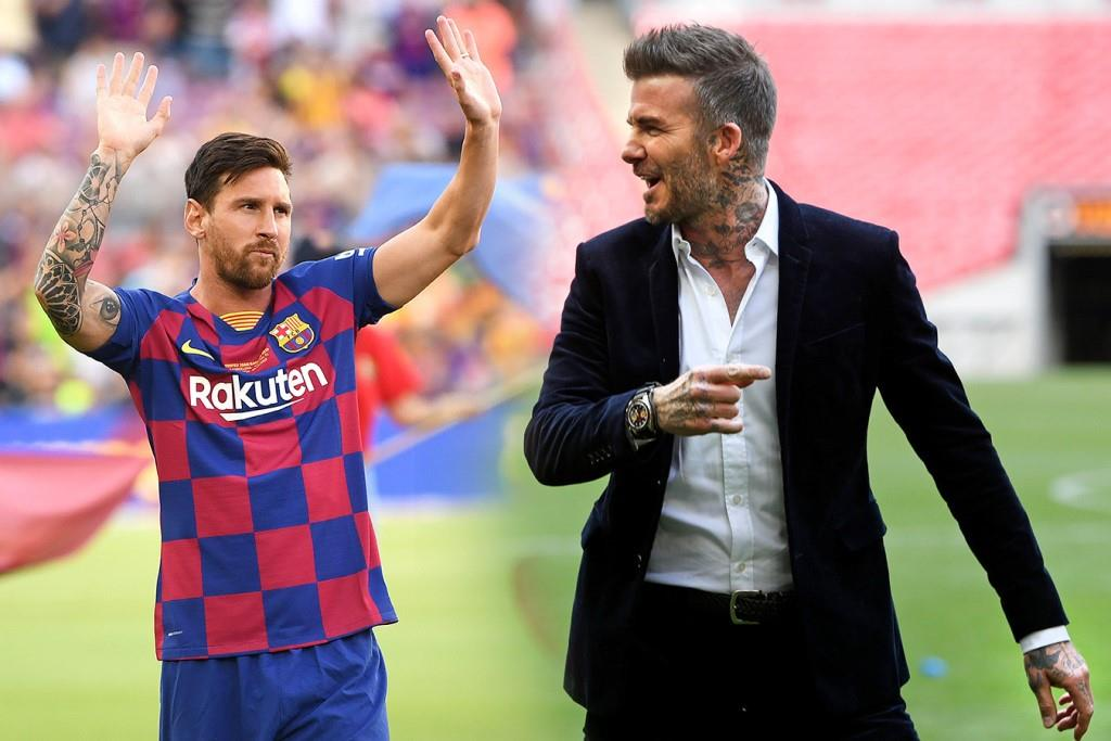 Football news David Beckham opens talks with Lionel Messi over Inter Miami MLS move after PSG contract finishes