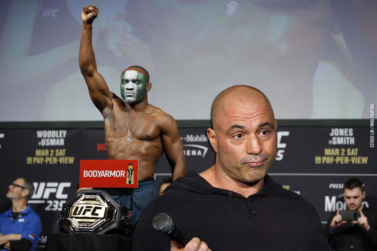 Joe Rogan believes that the weight categories in which the fighters perform do not correspond to their real weight.