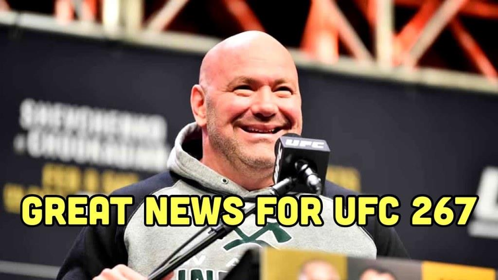 UFC News: UFC 267 is officially declared for October 30 in Abu Dhabi