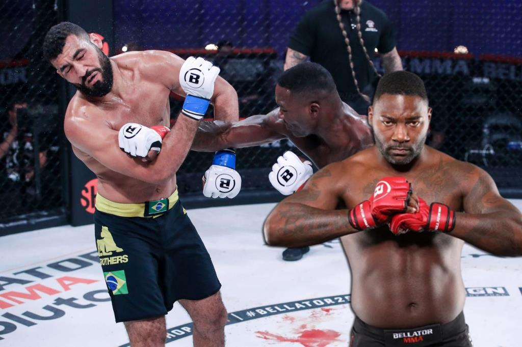 MMA news Anthony Johnson recalled the fight with Jose Augusto This is the first time I've been so shocked