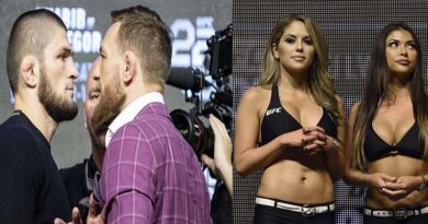 MMA news Conor McGregor trolled Khabib Nurmagomedov for his statement about the ring girls