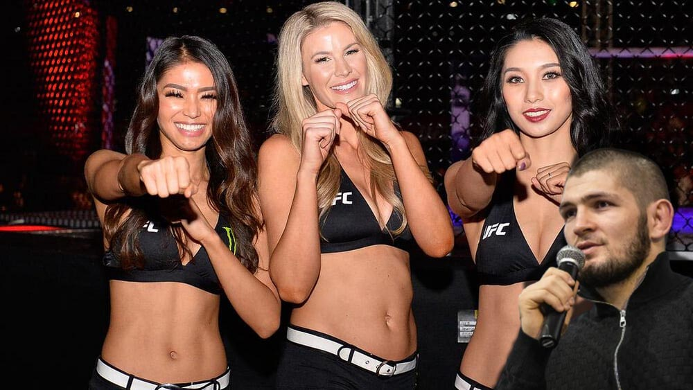 MMA news Khabib Nurmagomedov Ring girls are the most unnecessary people in martial arts