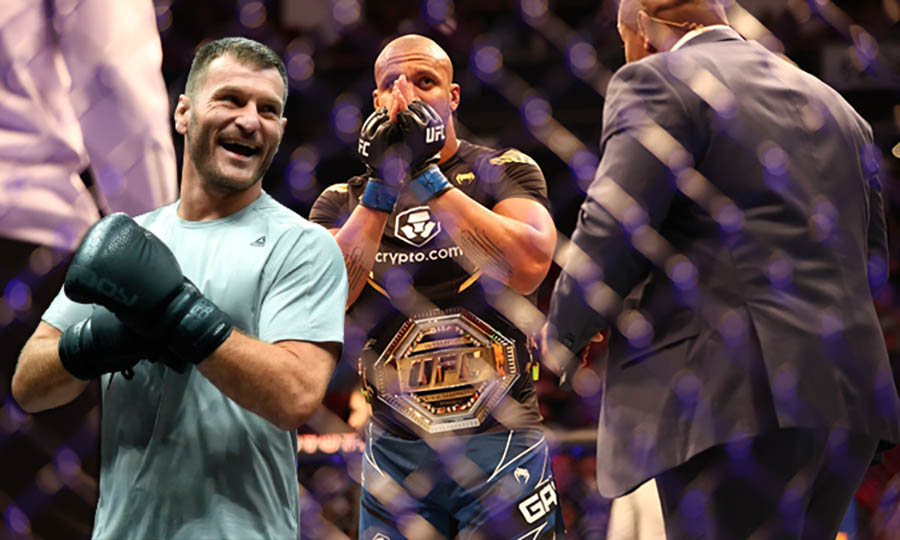 MMA news Stipe Miocic commented on the UFC's decision to introduce a interim heavyweight title