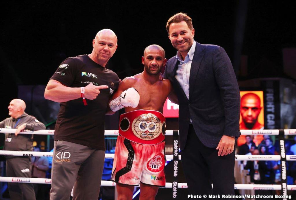 BOXING News: Eddie Hearn wants to bring Kid Galahad to the unification fight
