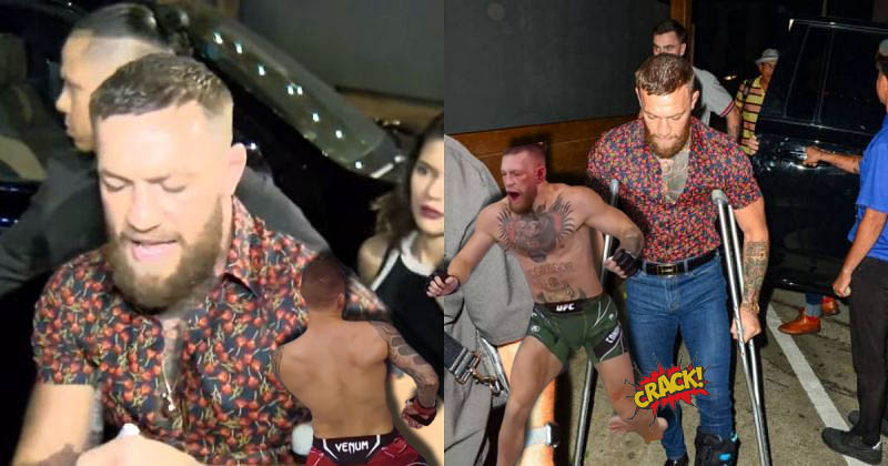 UFC news Conor McGregor has guaranteed fans that he is healing well from his terrible leg injury