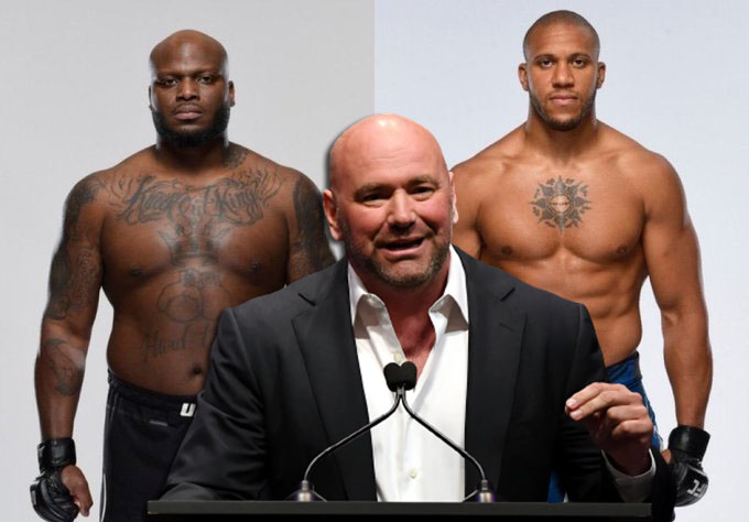 UFC news Dana White assessed the chances of Derrick Lewis in the fight against Cyril Gane