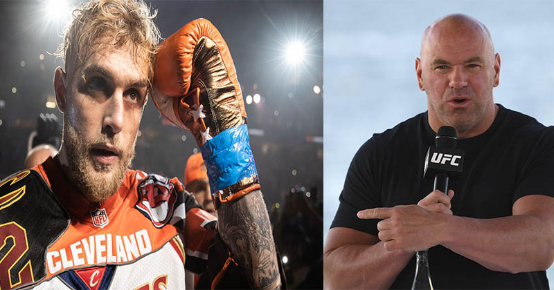 UFC news Dana White once again publicly spoke out on YouTube blogger Jake Paul