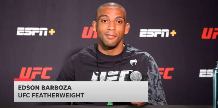 UFC news Edson Barbosa shared his expectations for the upcoming fight against Giga Chikadze.