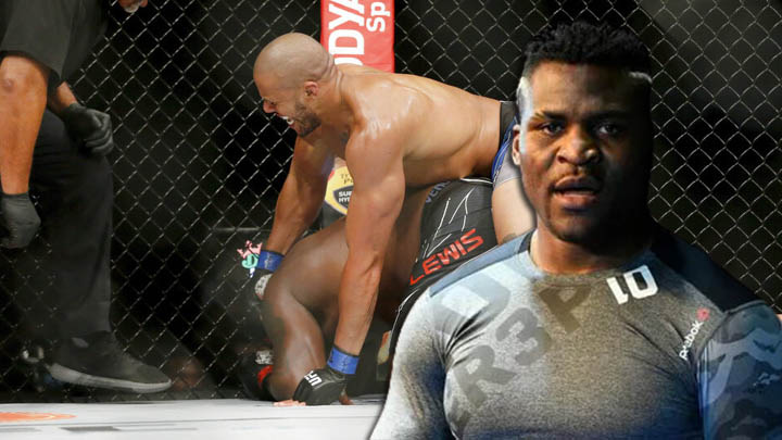 UFC news Francis Ngannou reacted to the victory of Ciryl Gane at UFC 265 I'll see you soon, kid