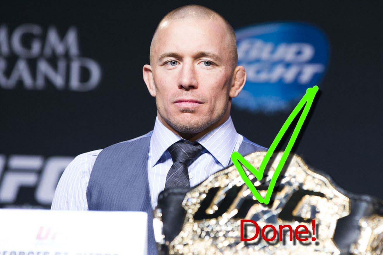 UFC news Georges St-Pierre says he is done with the UFC, but he would be open to fighting for charity.