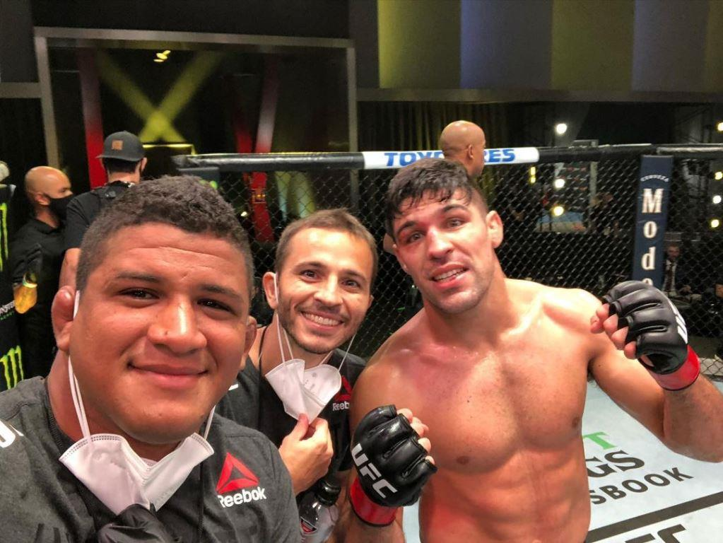 UFC news Gilbert Burns I will never agree to a fight with Vicente Luque