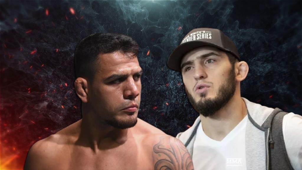 UFC news Islam Makhachev believes that Rafael dos Anjos has not become worse since the fight with Khabib