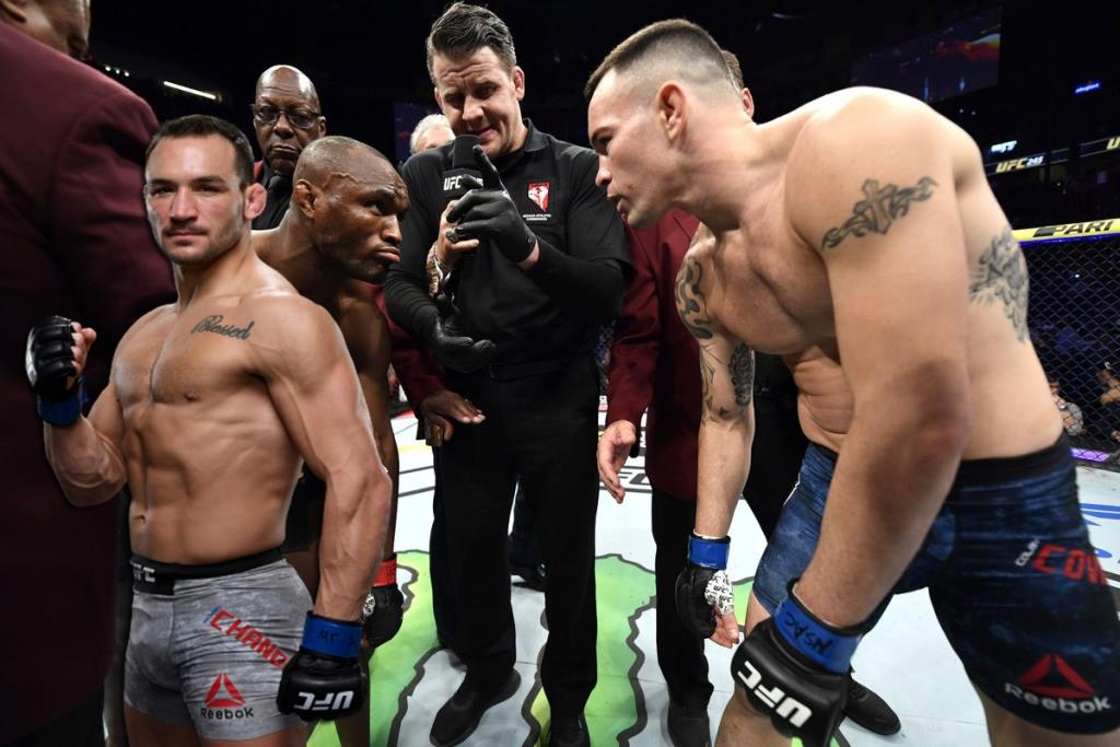 UFC news Michael Chandler shared his forecast for the Usman - Covington rematch
