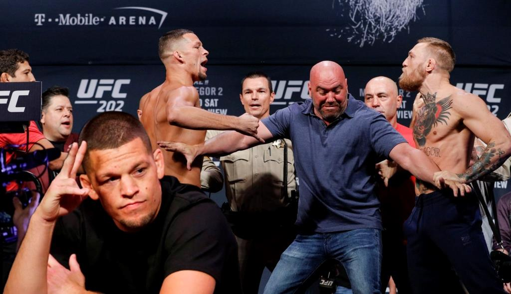 UFC news Nate Diaz declared himself the forefather of super fights