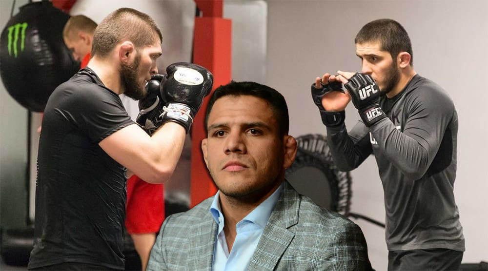 UFC news Rafael dos Anjos called the difference between Khabib Nurmagomedov and Islam Makhachev