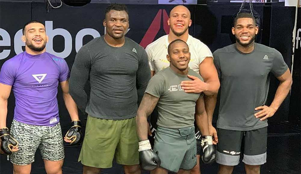 UFC news The sparring of Francis Ngannou and Ciryl Gane was leaked to the network the reaction of the mma community