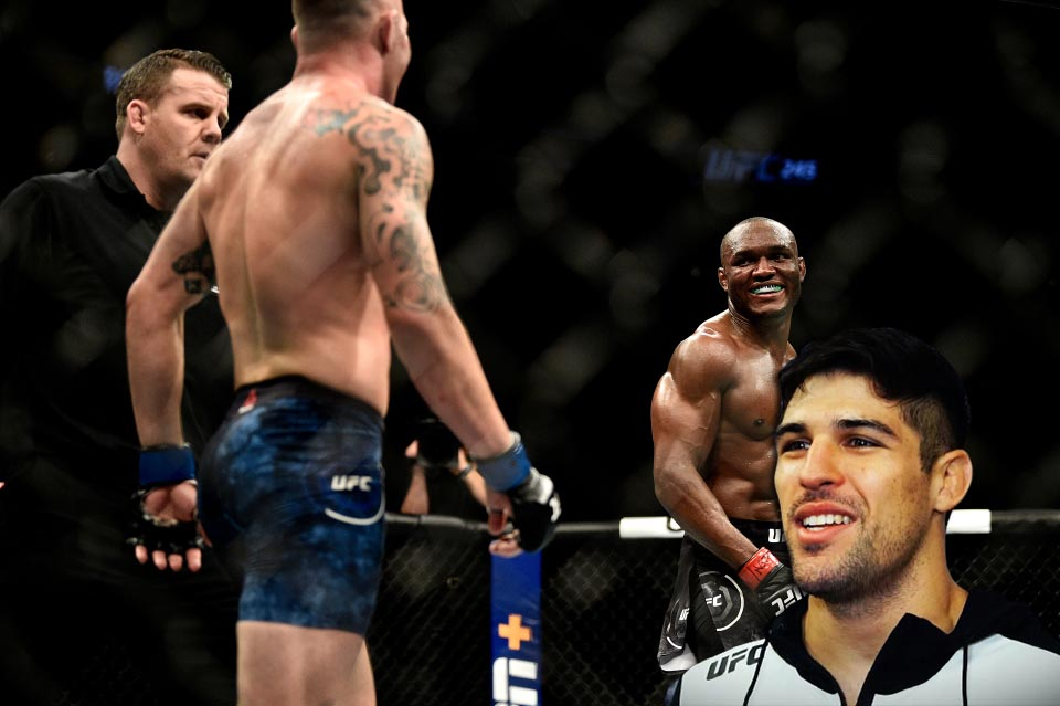 UFC news Vicente Luque predicted the winner of the Usman - Covington 2 fight