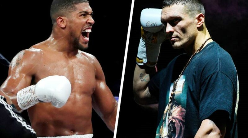 Boxing news Anthony Joshua and Olexander Usyk held open training sessions before the fight. Video