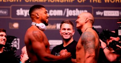 Boxing News Anthony Joshua vs Olexander Usyk weigh-in results