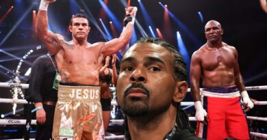 Boxing news David Haye criticized Vitor Belfort for his victory over Evander Holyfield
