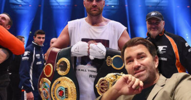 Boxing news Eddie Hearn believes that the WBC should deprive Tyson Fury of the championship title