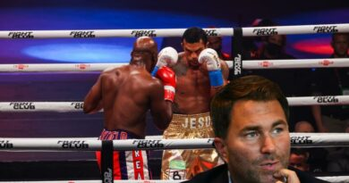 Boxing news Eddie Hearn joined the criticism of the fight between Vitor Belfort and Evander Holyfield