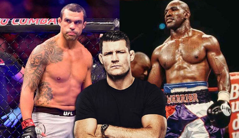 Boxing news Michael Bisping commented on the upcoming fight under the rules of boxing between Vitor Belfort and Evander Holyfield