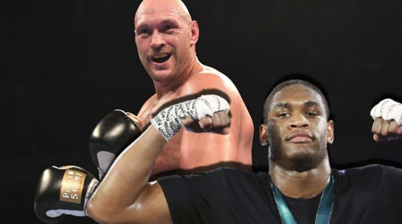Boxing news The team of Deontay Wilder named the boxer who sent Tyson Fury to indeed a knockout in sparring
