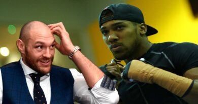 Boxing news Tyson Fury told about an unpleasant phone conversation with Anthony Joshua