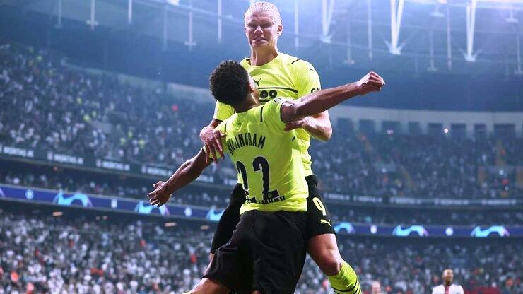 Football news Besiktas vs Borussia Dortmund Highlights & Report 15 September 2021. UEFA Champions League