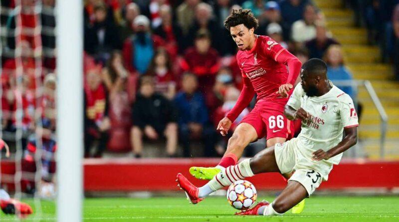 Football news Liverpool vs AC Milan Highlights & Report 15 September 2021. UEFA Champions League.