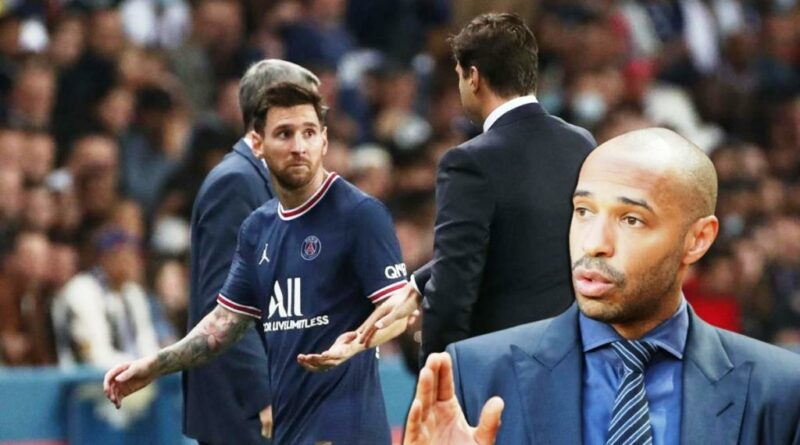 Football news Thierry Henry reacted to the conflict between Mauricio Pochettino and Lionel Messi