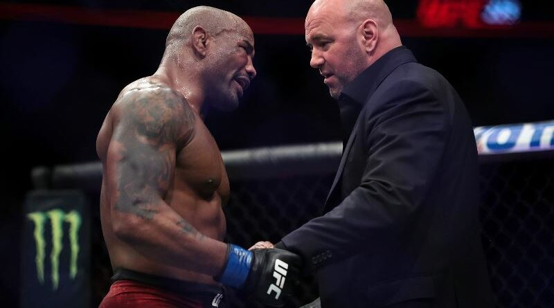 MMA news Dana White commented on the unsuccessful debut of Yoel Romero in Bellator