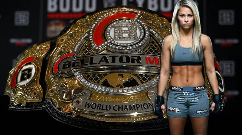 MMA news Paige Van Zant announced her desire to sign a contract with Bellator