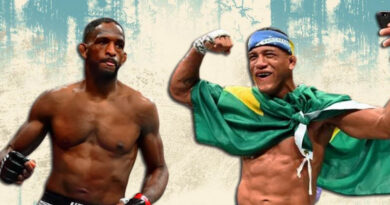 UFC news Gilbert Burns called out fellow top-10 ranked fighter Neil Magny, and Magny responded to him.