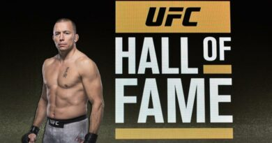 UFC news Incredible UFC Promo Video for Georges St-Pierre's induction into the Hall of Fame