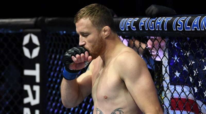 UFC news Justin Gaethje predicted how his fight with Michael Chandler will go at UFC 268.