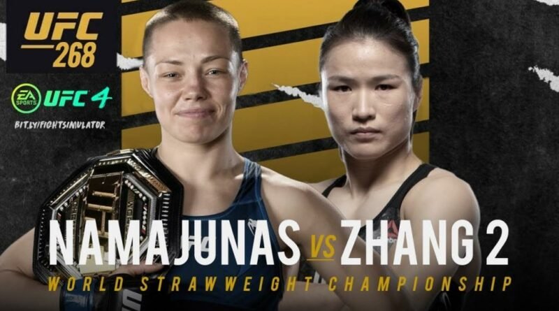 UFC news Zhang Weili spoke about her mood for a rematch with Rose Namajunas at UFC 268